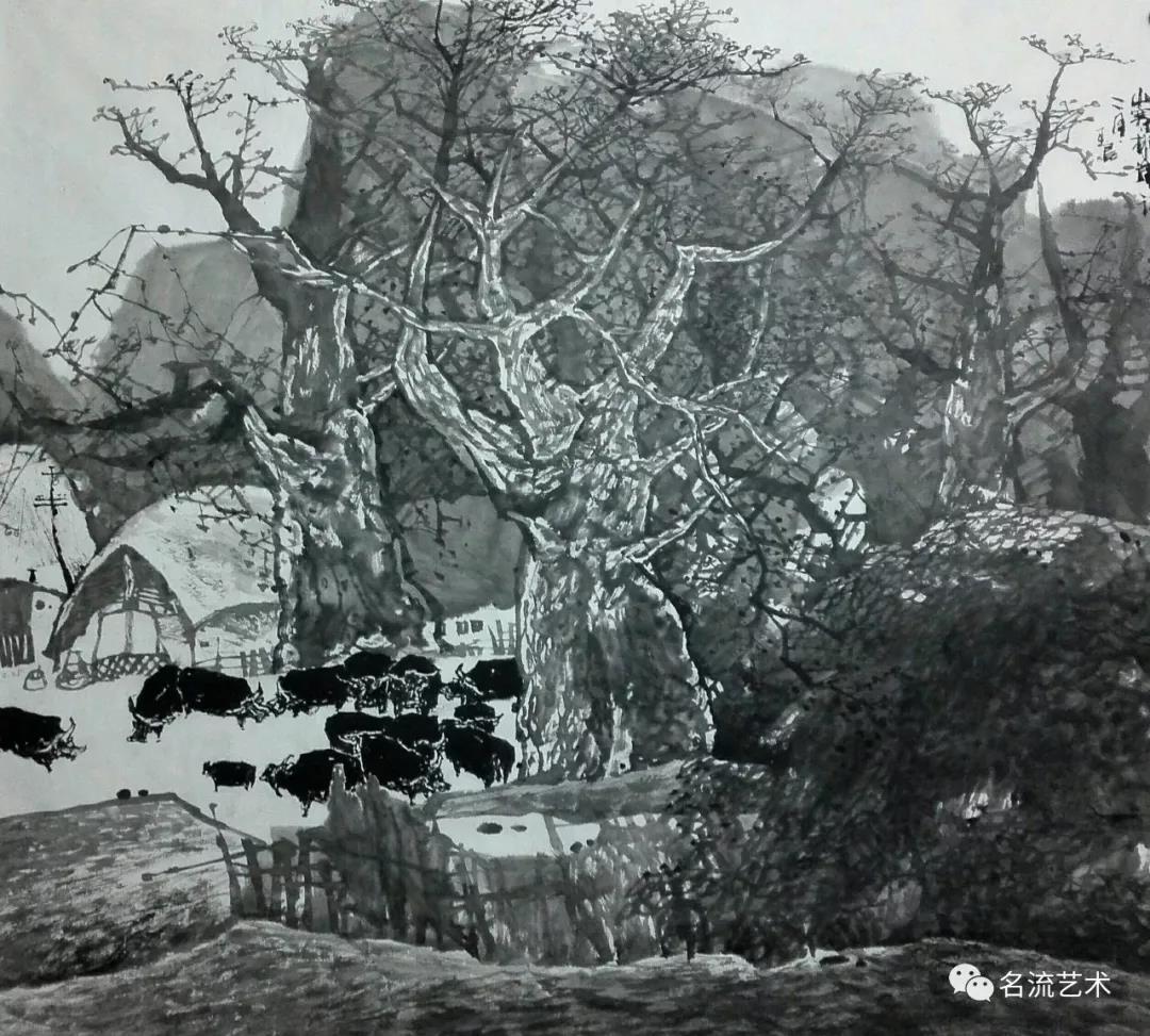 黎村排岸写二月