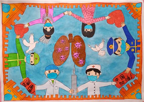 2020年伟德官网教育系统公益美术作品大赛初选入围作品线上展示(第十一期)小学组